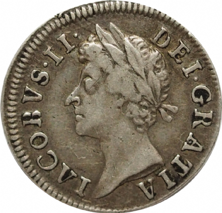 James II Silver Twopence 1685-1688